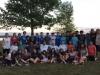Jeunes Arménagans en camping à Long Sault